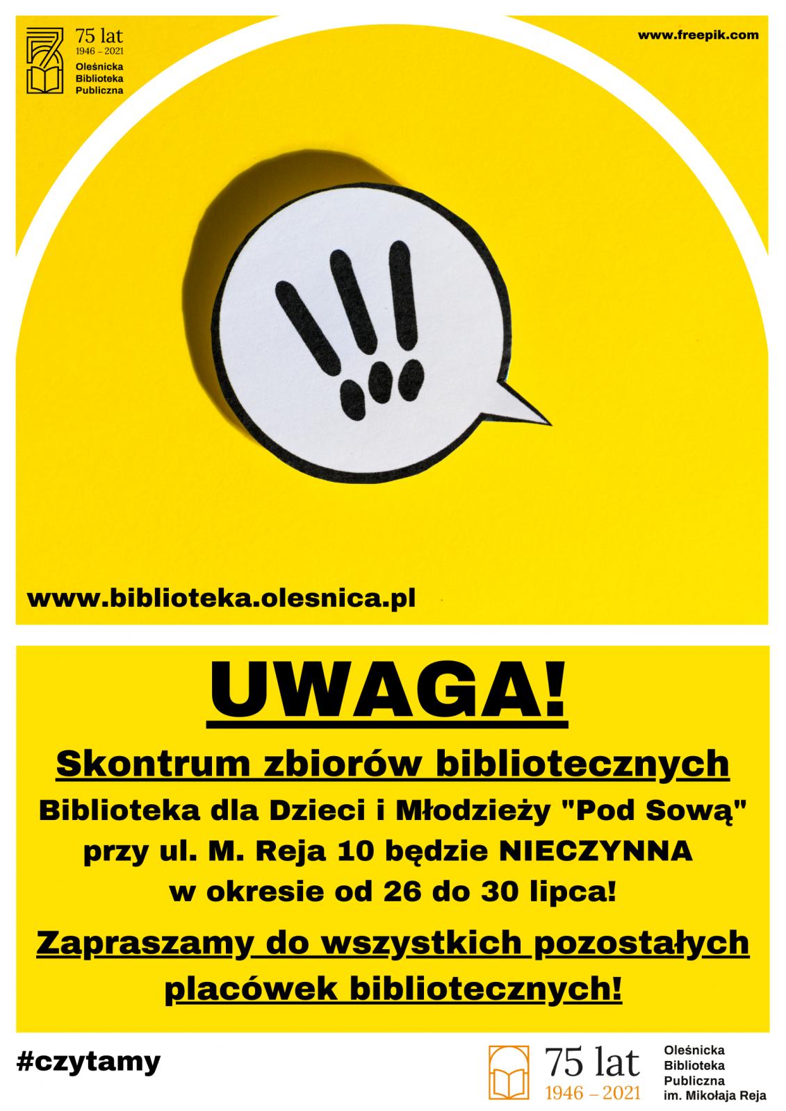 informacja o bbliotece