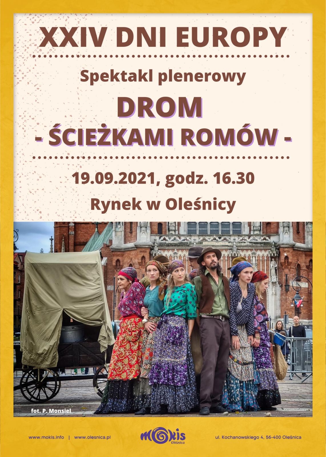 zaproszenie na przedstawienie romów