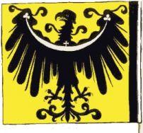 Chorągiew z herbem księstwa oleśnickiego