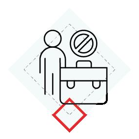 Stopa bezrobocia ikona
