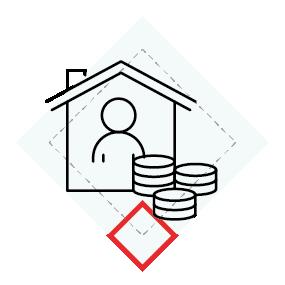 Cena mieszkania rynek wtórny ikona