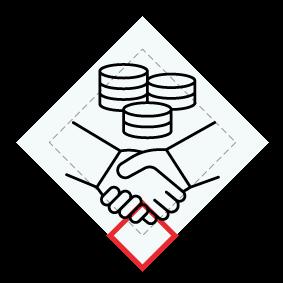 Działalność finansowa i ubezpieczeniowa; obsługa rynku nieruchomości oraz pozostałe ikona