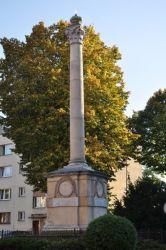 Kolumna Złotych Godów po remoncie w 2002