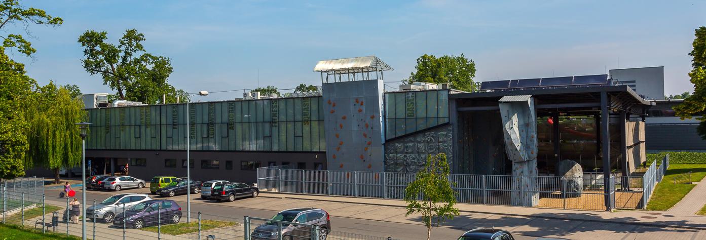 Front budynku Atol