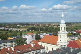 widok kościoła pw. Świętej Trójcy