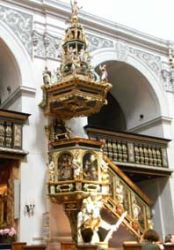 Ambona wybudowana w 1605 r.